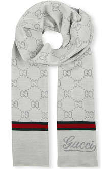 GUCCI Kids' knitted scarf