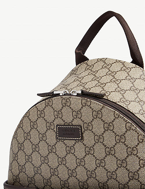 GUCCI GG Supreme coated canvas backpack