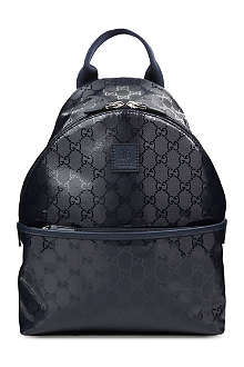 GUCCI Logo-printed backpack
