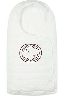 GUCCI Large logo nest sleeping bag