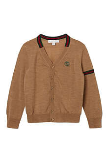 GUCCI Band-detail cardigan 4-12 years