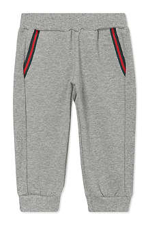 GUCCI Band trim jogging bottoms 3-36 months