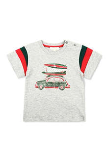 GUCCI Car print t-shirt 3-36 months