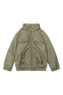 GUCCI Lightweight logo-detail jacket 3-36 months
