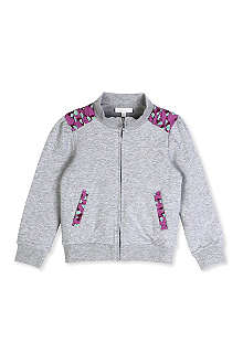 GUCCI Heart-detailed zip-up jacket 6-36 months