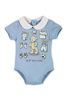 GUCCI My First Gucci Outfit bodysuit 0-12 months