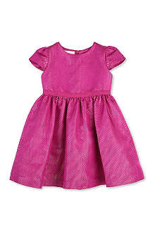 GUCCI Metallic diamond-detailed dress 0-24 months