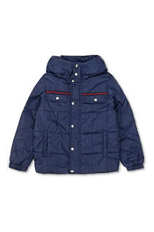 GUCCI GG nylon quilted jacket 4-12 years