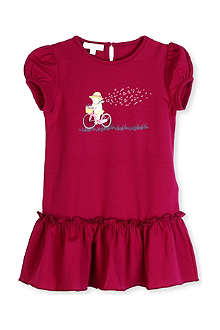 GUCCI Bicycle-print dress 0-36 months