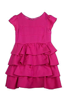 GUCCI Tiered satin party dress 3-36 months