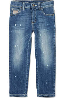 GUCCI Five-pocket denim jeans 4-12 years
