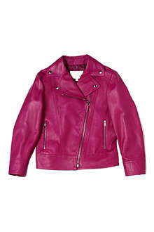 GUCCI Leather biker jacket 4-12 years