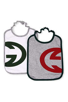 GUCCI Set of two bibs