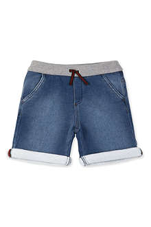 GUCCI Super-soft denim shorts 12-36 months