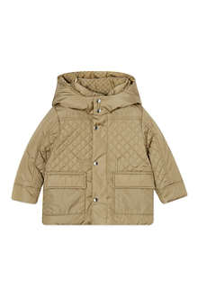 GUCCI Quilted padded coat 3-36 months