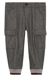 GUCCI Wool cargo trousers 3-36 months