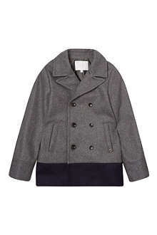 GUCCI Double breasted wool pea coat 4-12 years