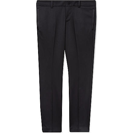 GUCCI Classic tuxedo pants 4-12 years (Black