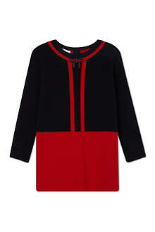 GUCCI Classic web knitted dress 3-36 months