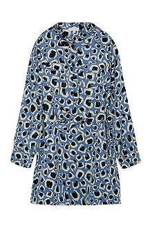 GUCCI Leopard print shirt dress 4-12 years