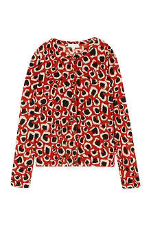 GUCCI Leopard print cardigan 4-12 years