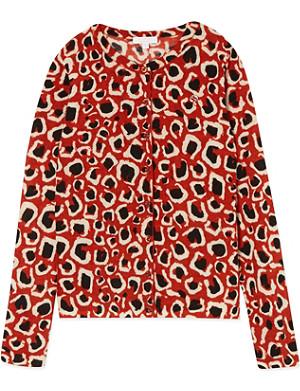GUCCI Leopard print cardigan 4-12 years