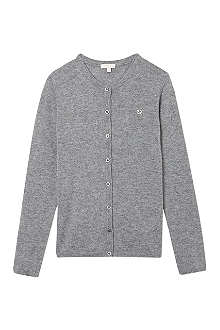 GUCCI Badge cashmere cardigan 4-12 years