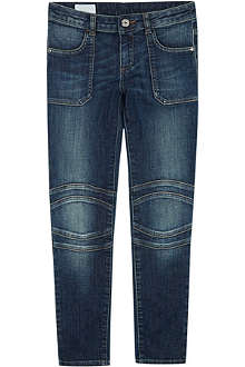 GUCCI Mid wash biker jeans 4-12 years