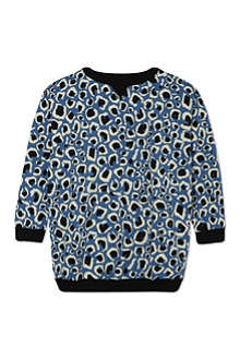 GUCCI Leopard print sweatshirt 4-12 years