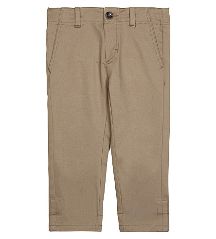 GUCCI Web trim cuffed chinos 6-36 months (Sugarcane