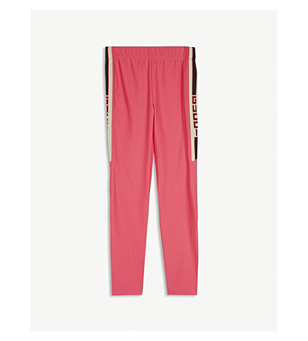 GUCCI Web stripe leggings 4-12 years (Pink