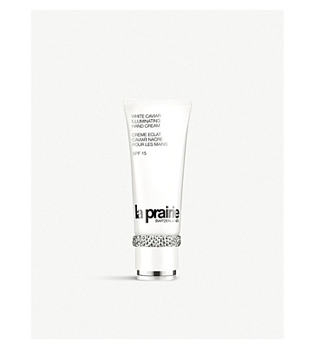 LA PRAIRIE White Caviar Illuminating Hand Cream SPF 15 100ml
