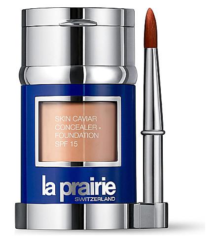 LA PRAIRIE Skin Caviar Concealer Foundation SPF 15 (Amber+beige