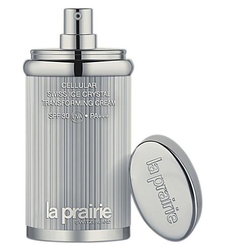 LA PRAIRIE 蜂窝式瑞士冰晶体转化防晒霜 SPF 30 30毫升 (Beige+30