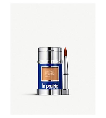 LA PRAIRIE Skin caviar concealer foundation SPF15 (Almond+beige