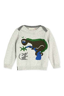 STELLA MCCARTNEY Dinosaur jumper 3-24 months