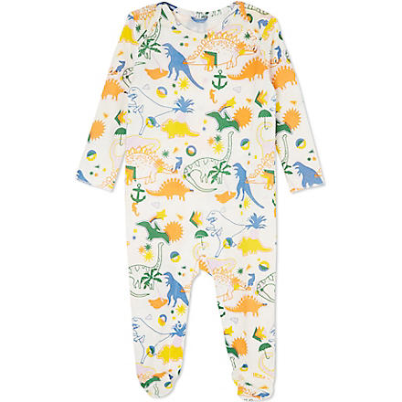 STELLA MCCARTNEY Rufus dinosaur baby grow 3-12 months (Multi