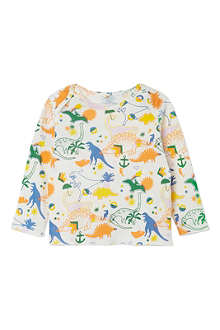 STELLA MCCARTNEY Buster Dinosaur top 6-24 months