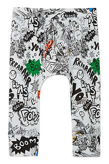 STELLA MCCARTNEY Macy Comic print leggings 6-24 months