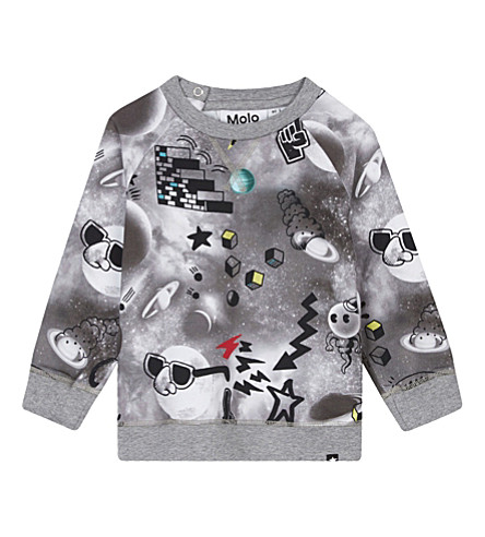MOLO Elmo cotton long-sleeved top (4625