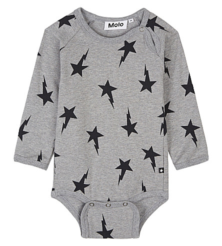 MOLO Star printed cotton babygrow 3-12 months (2388