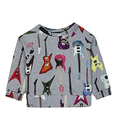 MOLO Dayne guitar printed sweatshirt 4-14 years (2364