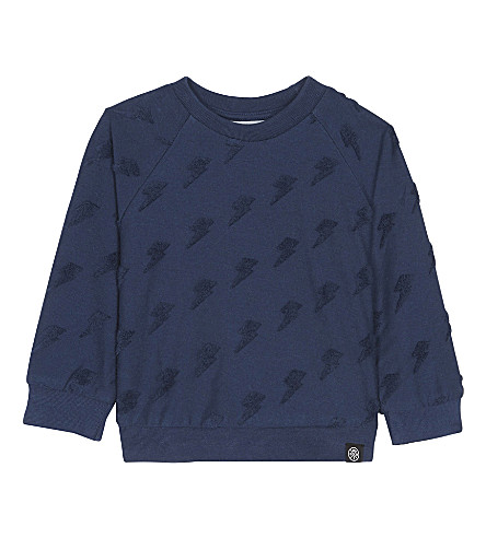 MOLO Drake lightening bolt cotton sweatshirt (2291