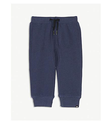 MOLO Stan cotton-blend jogging bottoms 3-24 months (Infinity+blue
