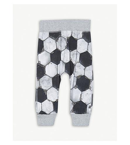 MOLO 足球印花弹力棉慢跑裤 3-24 月 (足球 + 印刷品