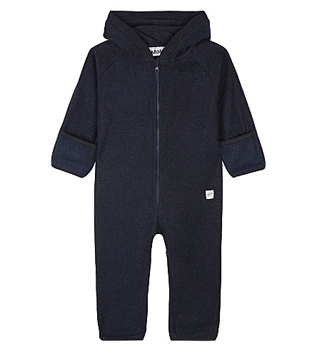 MOLO Umeko hooded fleece onesie 3-12 months (2260