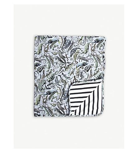 MOLO Liazrd-print cotton blanket (Grey