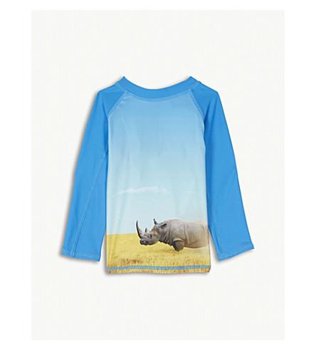 MOLO Nemo rhino rash vest 3-24 months (Blue