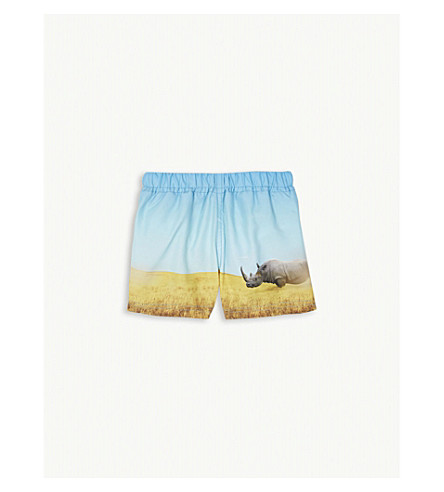 MOLO Newton swim shorts 3-24 months (Blue