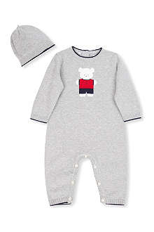 EMILE ET ROSE Blake babygrow with hat newborn-6 months